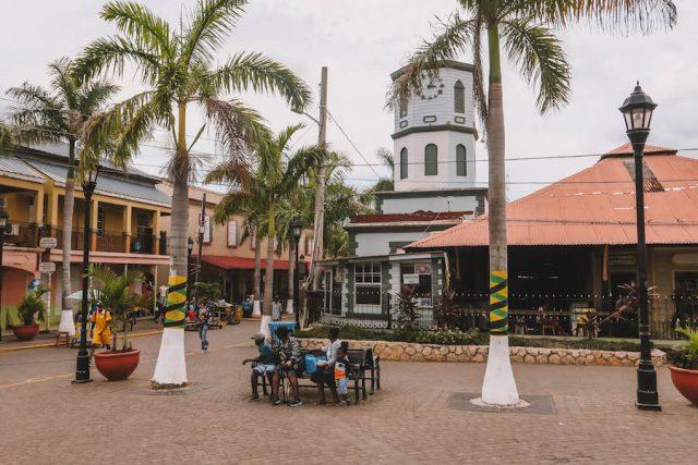 Jamaika Sehenswuerdigkeiten Falmouth Altstadt