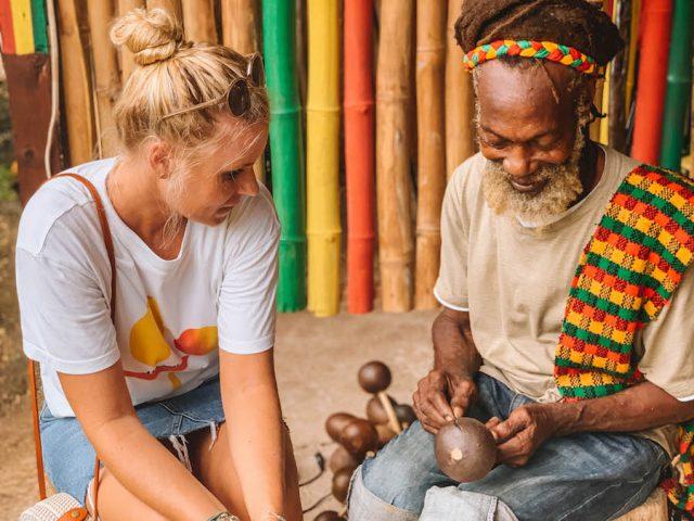 Jamaika Sehenswuerdigkeiten Rastafari Indigenous Village