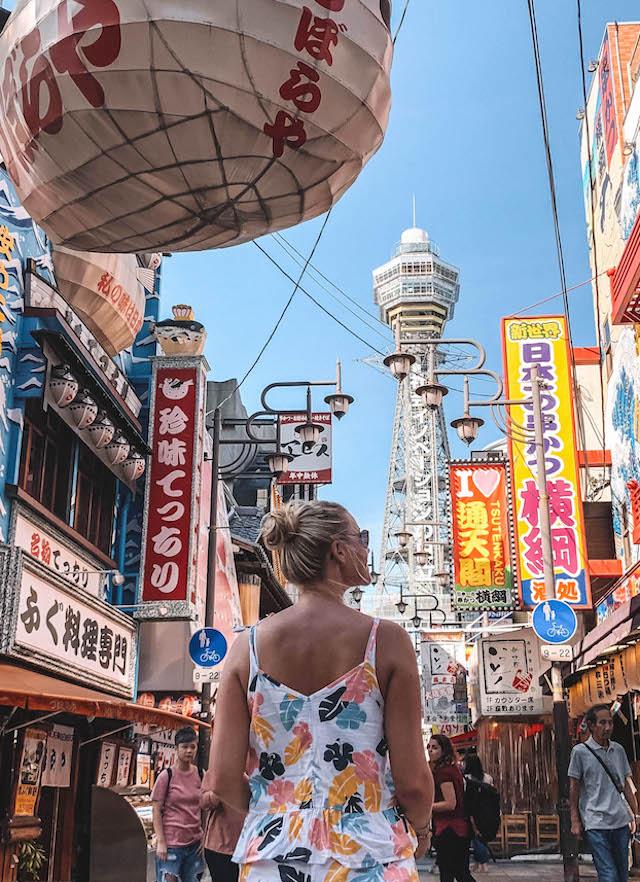 Osaka Sehenswuerdigkeiten Shinsekai