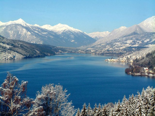 Reiseziele Dezember Oesterreich Millstaetter See