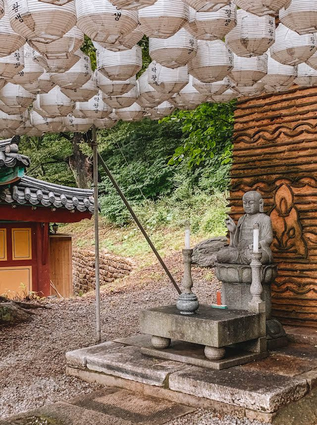 Suedkorea Reisen Buddha Tempel