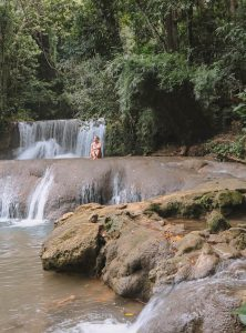 YS Falls Jamaika Sehenswuerdigkeiten Natur