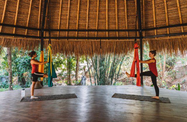 Aerial Yoga Mondo Surf Village
