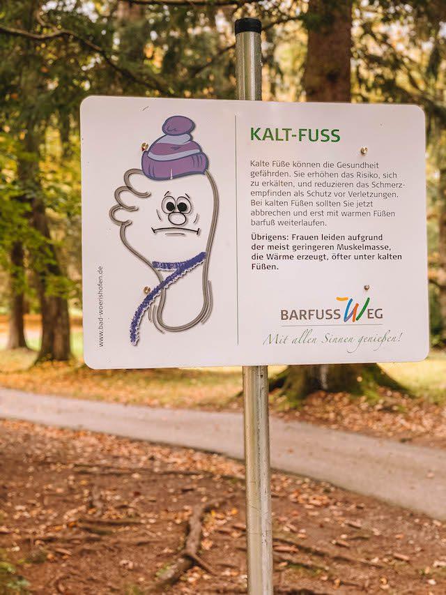 Bad Woerishofen Barfussweg Kaltfuss