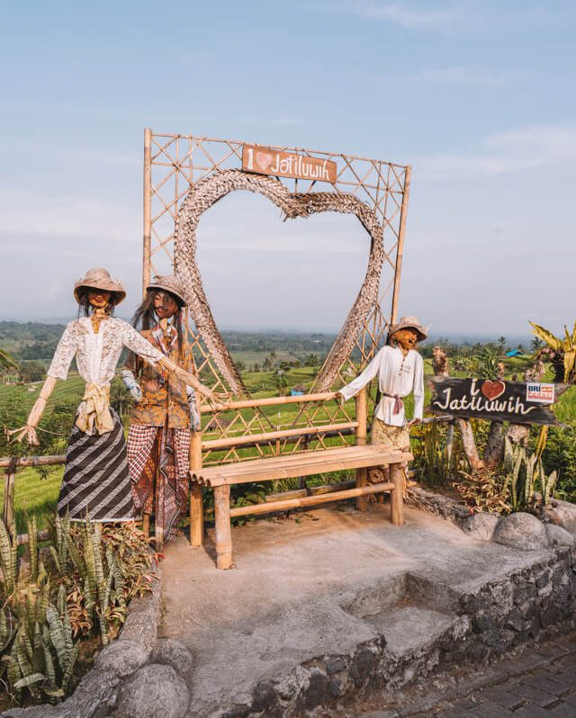 Bali Sehenswuerdigkeiten Jatiluwih Reisfelder