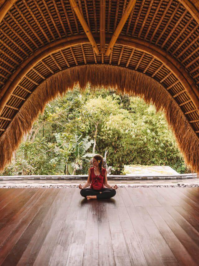 Bali Sehenswuerdigkeiten Ubud Yoga Shala