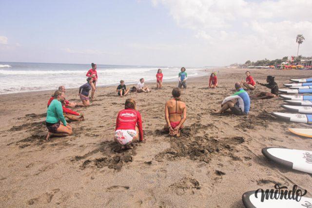 Canggu Bali Surfen Lernen