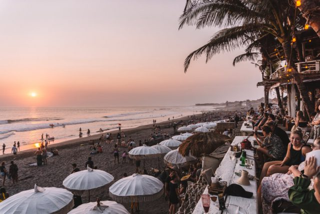 Echo Beach Sonnenuntergang