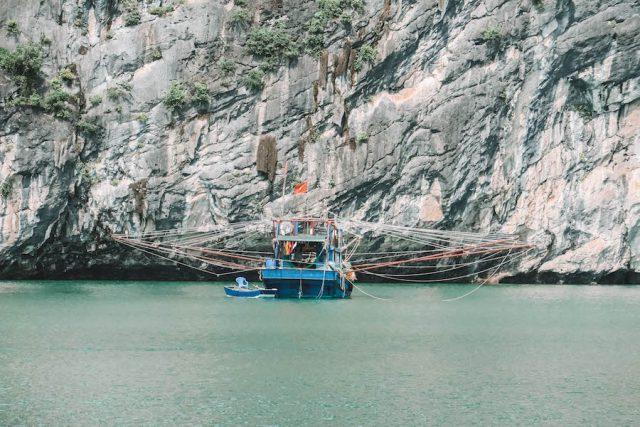 Halong Bucht Boot