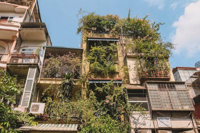 Hanoi Altstadt Roehrenhaeuser