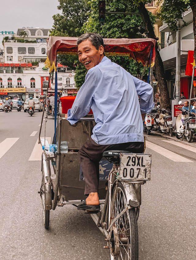 Hanoi Rikscha Tour