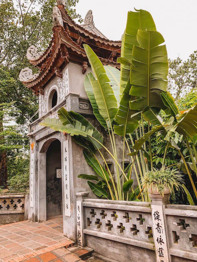 Hanoi Sehenswuerdigkeiten Ngoc Son Tempel