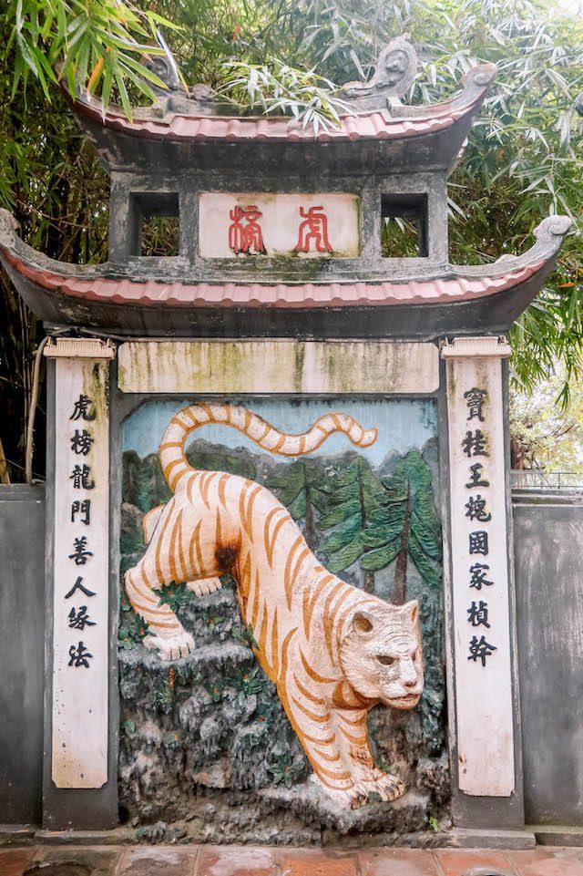 Hanoi Sehenswuerdigkeiten Ngoc Son Tempel Tiger