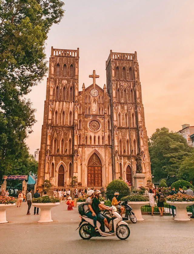 Hanoi Sehenswuerdigkeiten St Josephs Cathedral