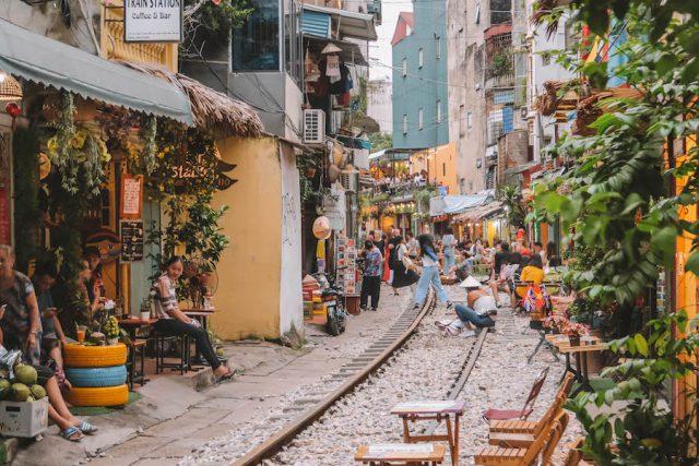Hanoi Sehenswuerdigkeiten Train Street