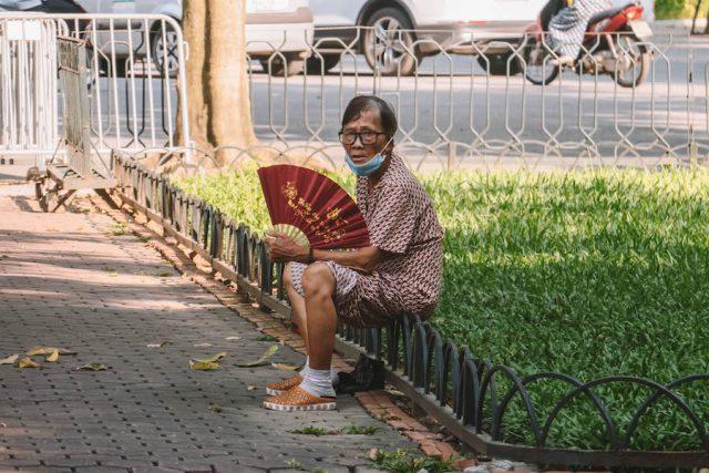 Hanoi Strassenszene