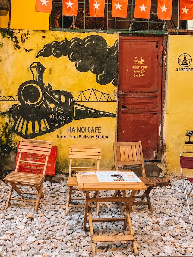Hanoi Train Street Cafe