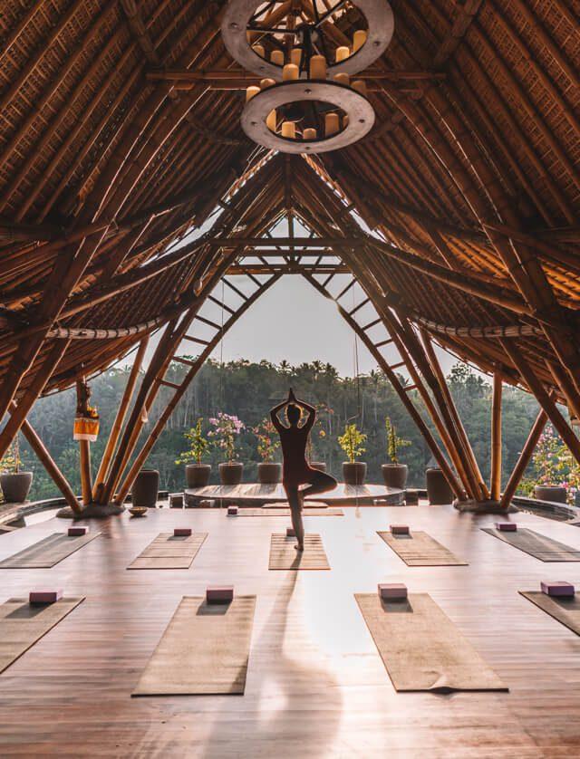 Kayon Jungle Hotel Yoga