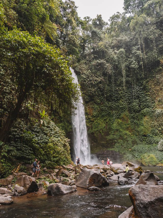 Nung Nung Wasserfall Munduk