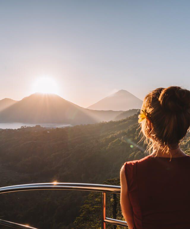 Sonnenaufgang Batur Vulkan