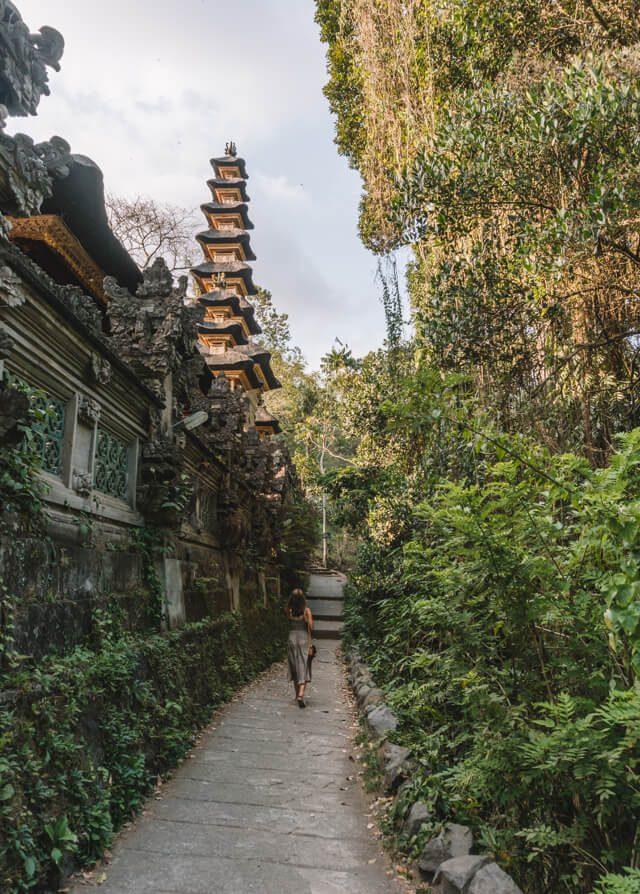 Ubud Bali Campuhan Ridge Walk Tempel