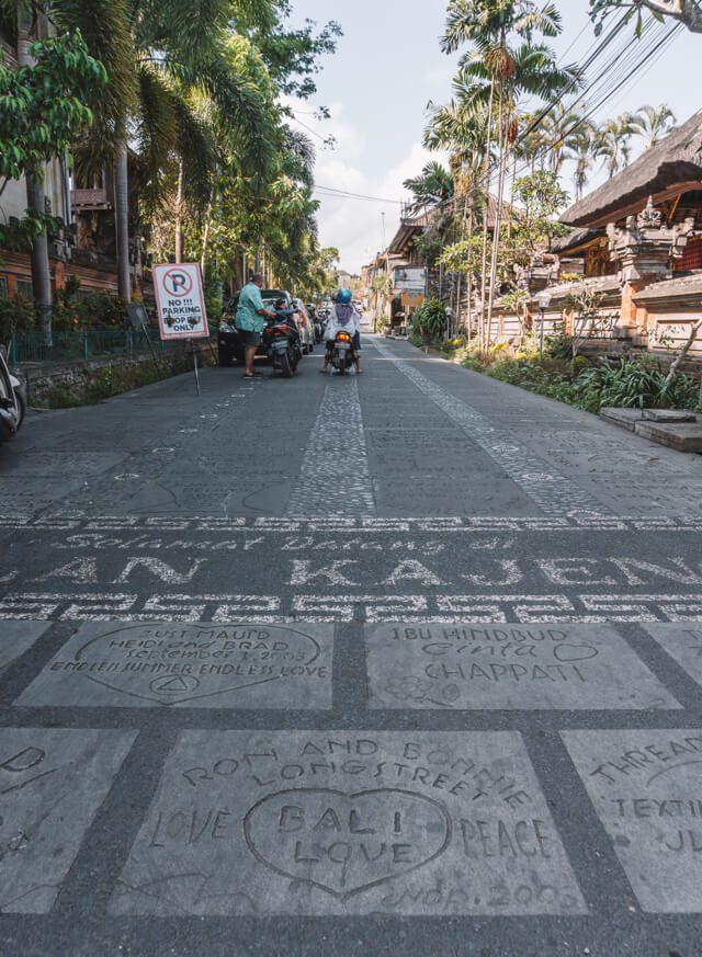 Ubud Bali Jalan Kajeng