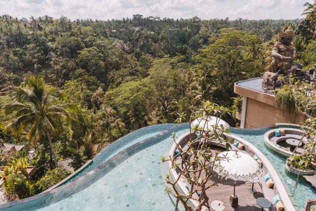 Ubud Bali Kayon Jungle Resort Aussicht