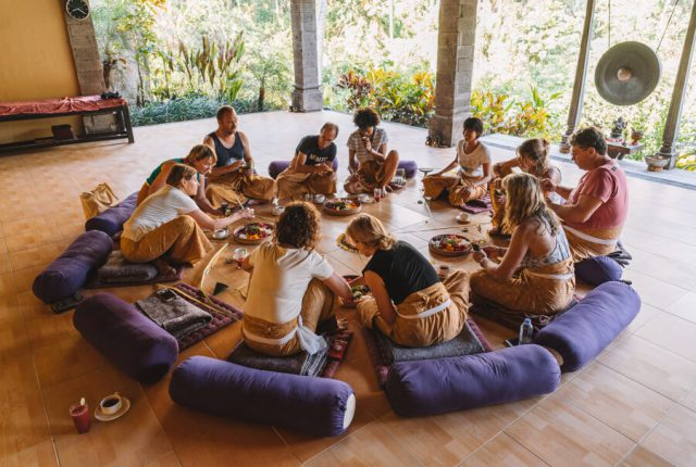 Ubud Yoga Retreat Blessing