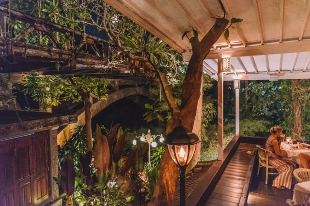 Ubud Yoga Retreat Restaurant Bridges