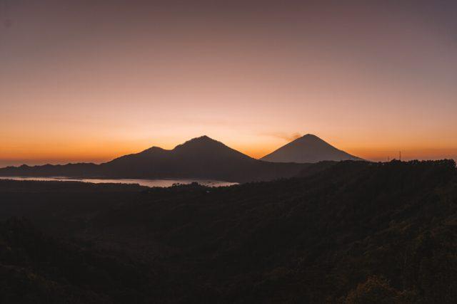 Ubud Yoga Retreat Sonnenaufgang Batur Vulkan