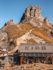 Dolomiten Rotwandhaus Einkehr