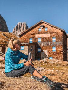 Dolomiten Wandern Rotwandhuette