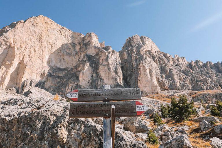 Hirzelsteig Dolomiten Wanderung