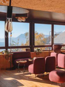 Hotel Belvedere Jenesien Eingangsbereich