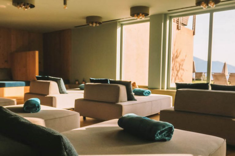 Hotel Belvedere Jenesien Ruheraum
