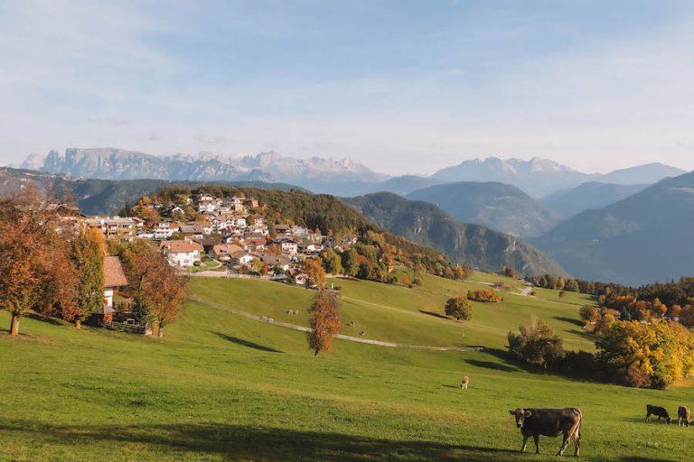 Jenesien Suedtirol Dolomiten