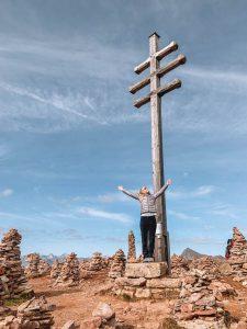 Stoarnerne Mandeln Gipfelkreuz