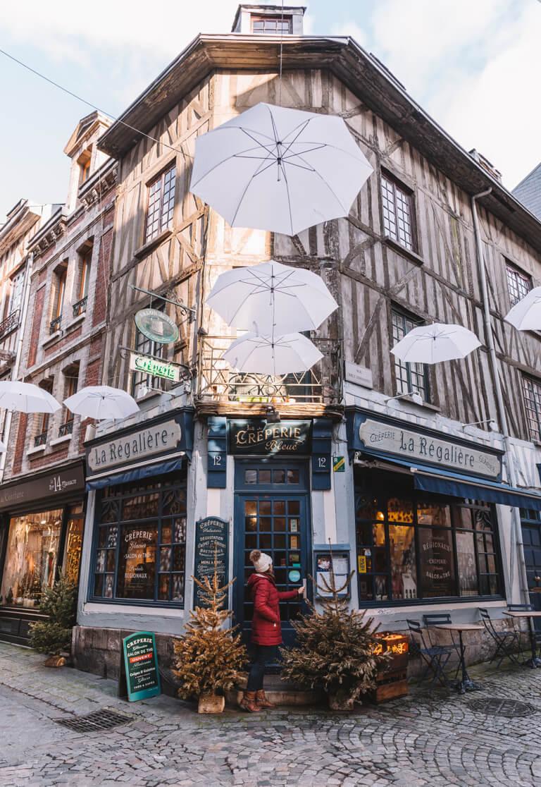 Arosa Flusskreuzfahrt Frankreich Rouen Normandie