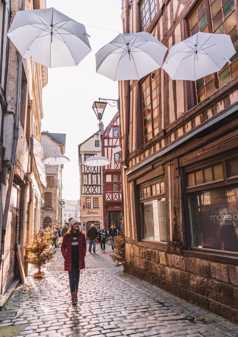 Arosa Flusskreuzfahrt Rouen Seine