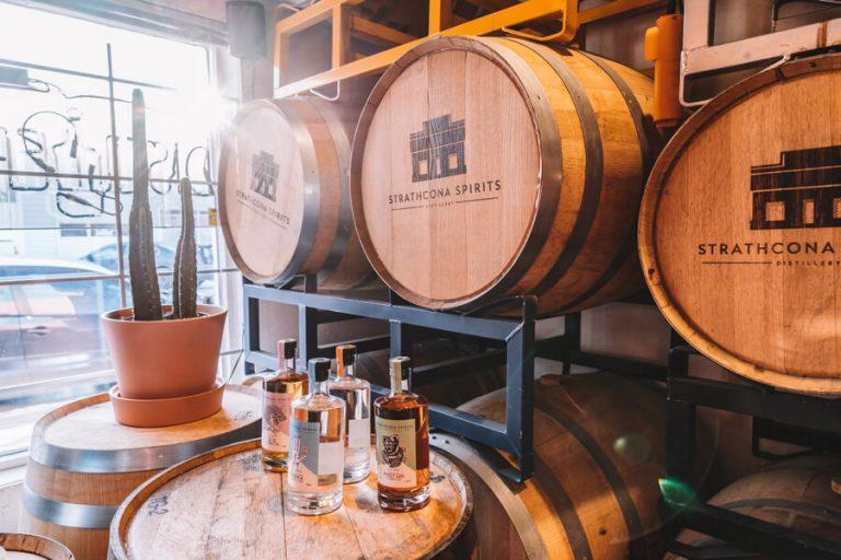 Edmonton Kanada Strathcona Spirits Destillerie
