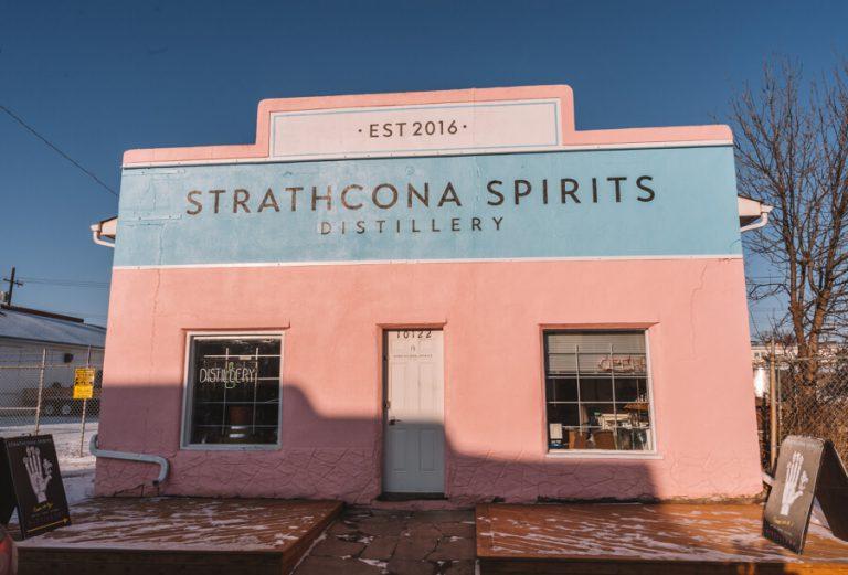 Edmonton Kanada Strathcona Spirits Distillery