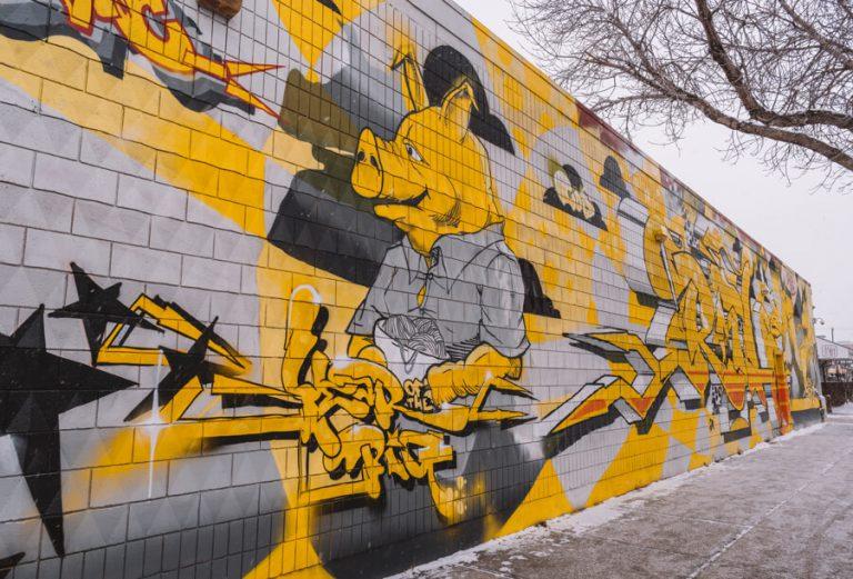 Edmonton Kanada Streetart