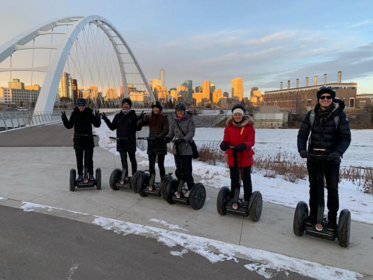 Edmonton River Valley Segway Tour