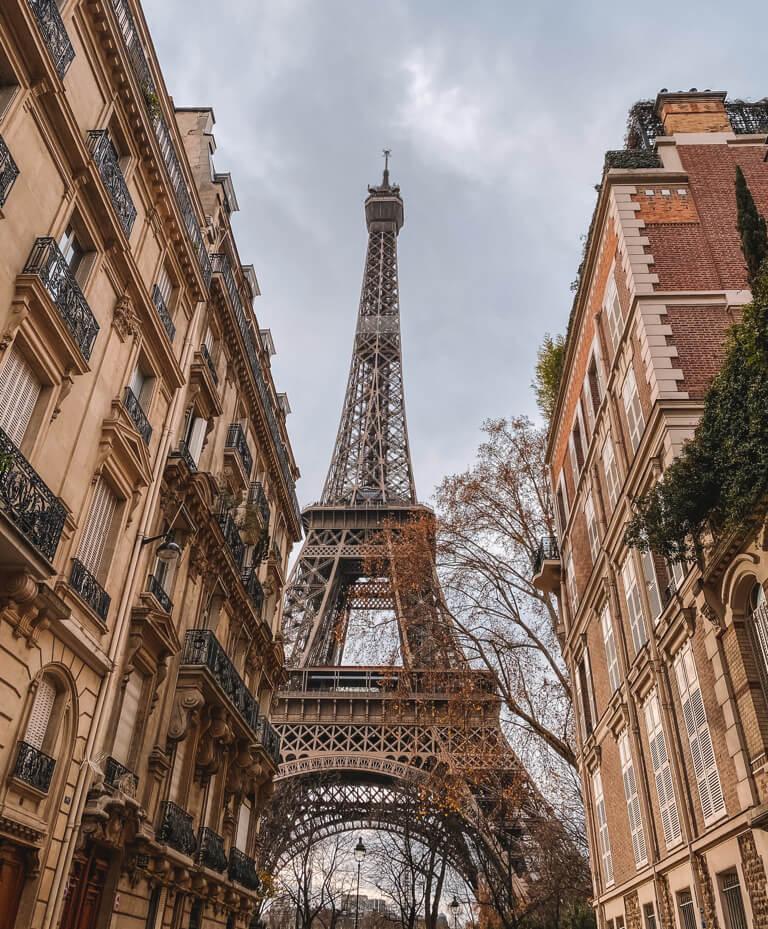 Eiffelturm Sehenswuerdigkeiten Paris