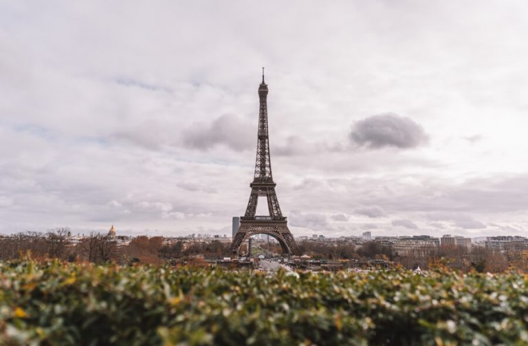 Eiffelturm Trocadero Gaerten
