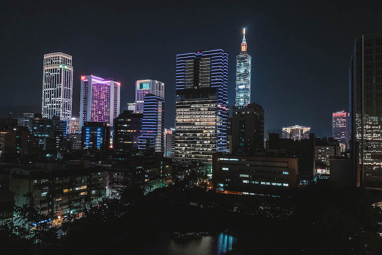 Eslite Hotel Taipeh Skyline