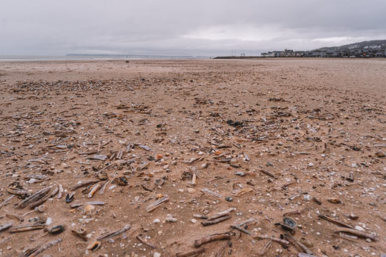 Frankreich Normandie Deauville Strand