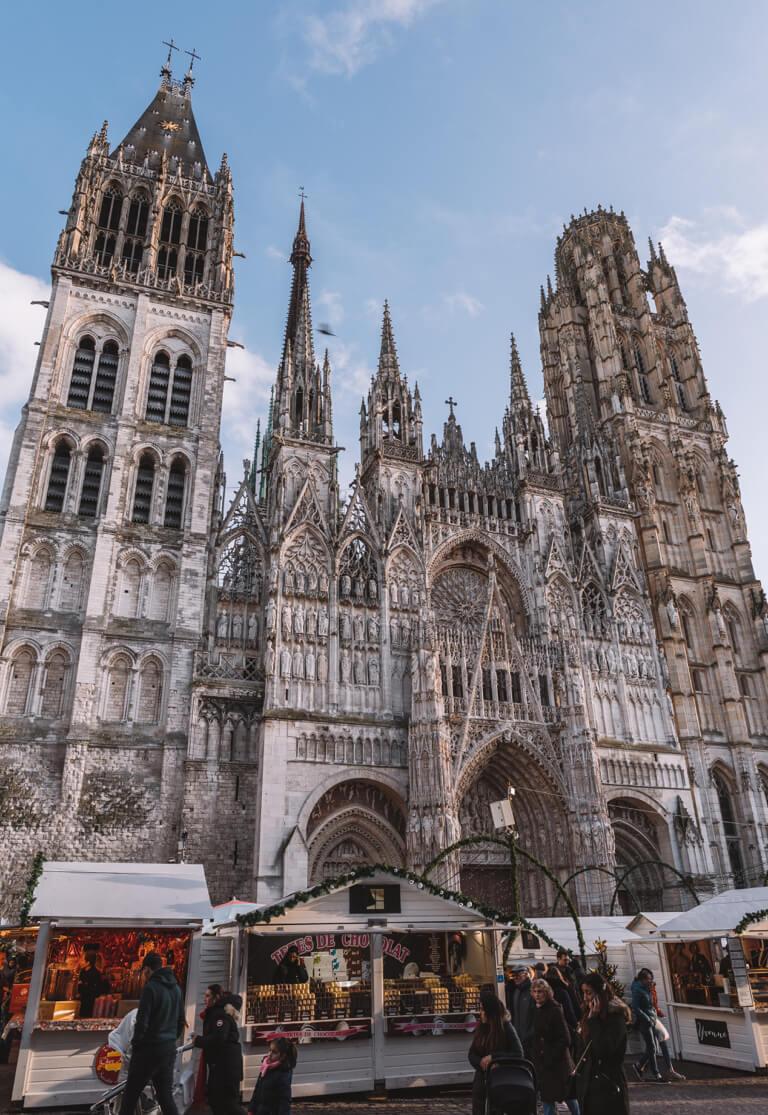 Frankreich Normandie Rouen Kathedrale
