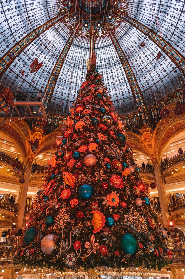 Galeries Lafayette Weihnachtsbaum