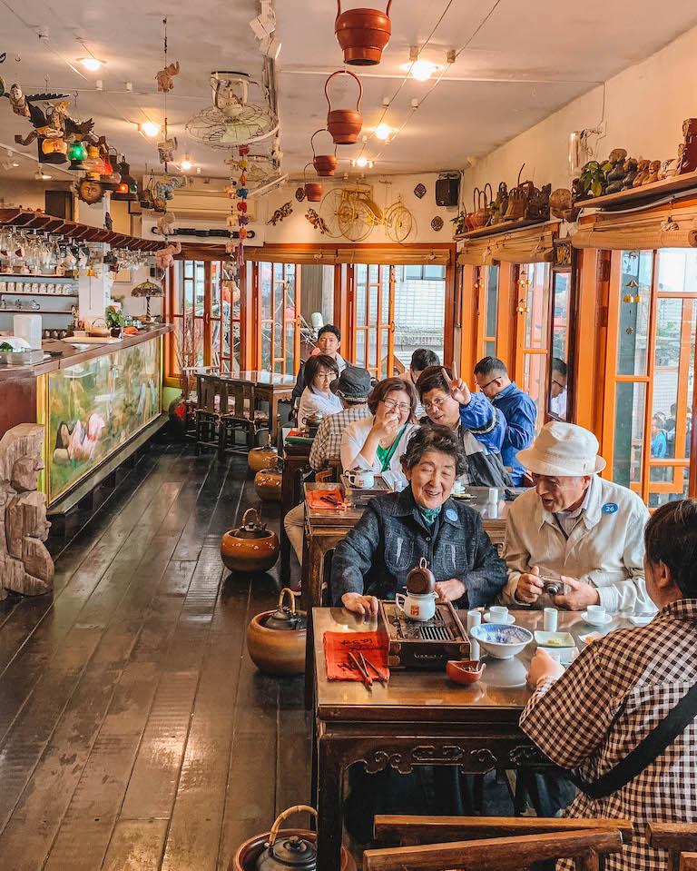 Jiufen Ameis Teahouse